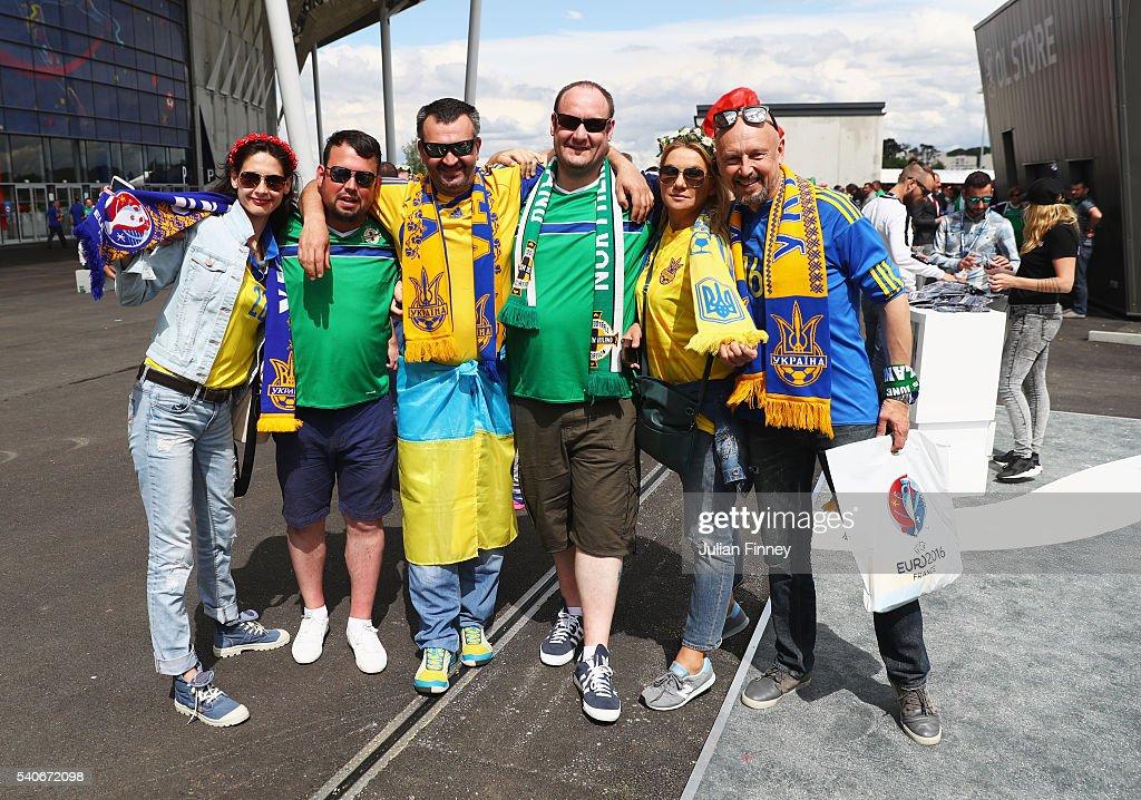 Ukraine v Northern Ireland - Group C: UEFA Euro 2016 : News Photo