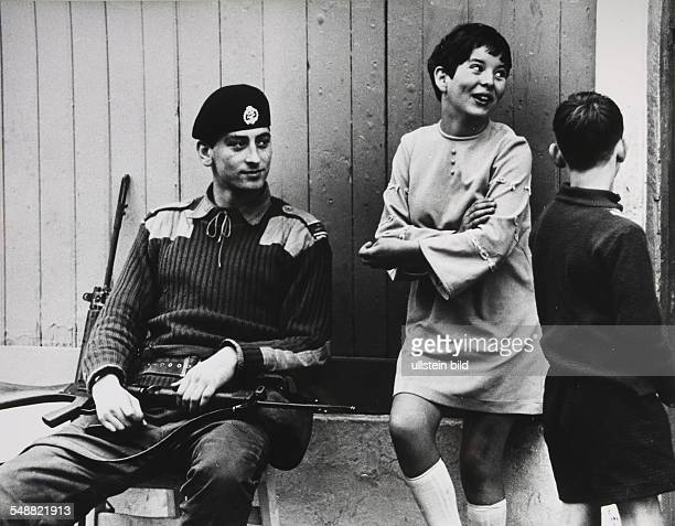 GBR Northern Ireland Belfast Flirts between British soldiers and little girls are still excusable But women who started a love affair with a British...