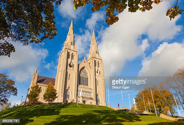 northern ireland, county armagh, st.patrick's cath - catholicism stock pictures, royalty-free photos & images