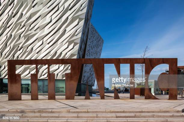uk, northern ireland, exterior - public building stock pictures, royalty-free photos & images
