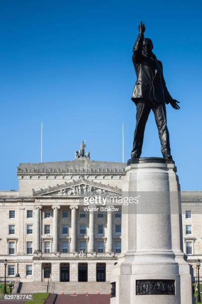 uk, northern ireland, exterior - stormont stock photos and pictures