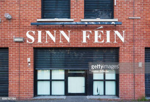 uk, northern ireland, exterior - falls road stock pictures, royalty-free photos & images