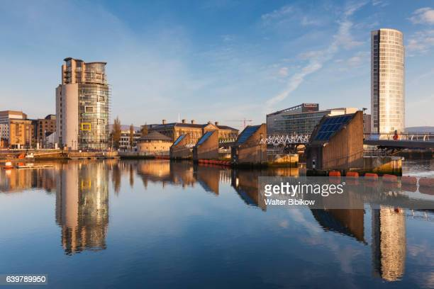 uk, northern ireland, exterior - belfast stock pictures, royalty-free photos & images
