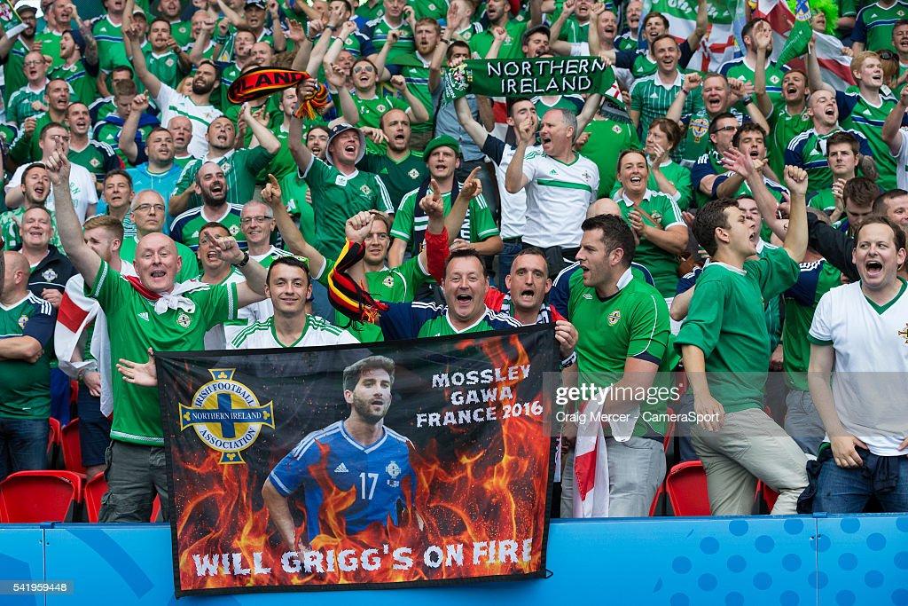Northern Ireland v Germany - Group C: UEFA Euro 2016 : News Photo