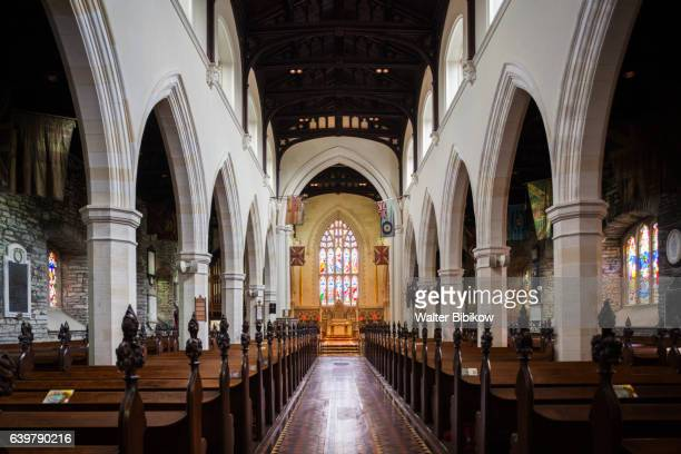 uk, northern ireland, interior - church stock pictures, royalty-free photos & images