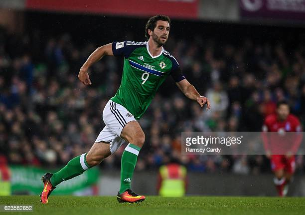 Northern Ireland Ireland 11 November 2016 Will Grigg of Northern Ireland during the FIFA World Cup Group C Qualifier match between Northern Ireland...