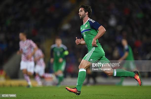 Northern Ireland Ireland 15 November 2016 Will Grigg of Northern Ireland during the International Friendly match between Northern Ireland and Croatia...