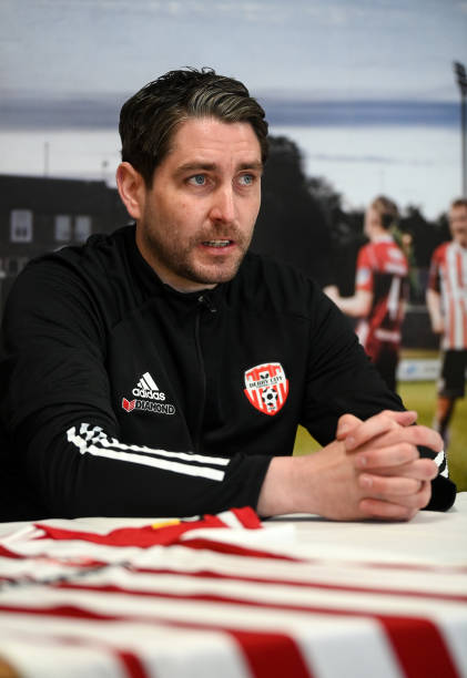 GBR: Derry City Introduce Ruaidhri Higgins as Manager