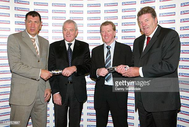 Northern Ireland manager Lawrie Sanchez Scotland manager Walter Smith England manager Steve McClaren and Wales manager John Toshack