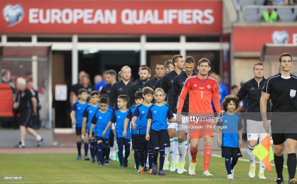 Azerbaijan V Northern Ireland 2018 Fifa World Cup Qualifying Group C Tofik Bakhramov Stadium