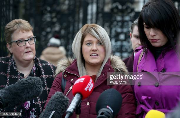 Northern Ireland resident and campaigner Sarah Ewart who after having been diagnosed with a fatal foetal abnormality in 2013 travelled to England for...