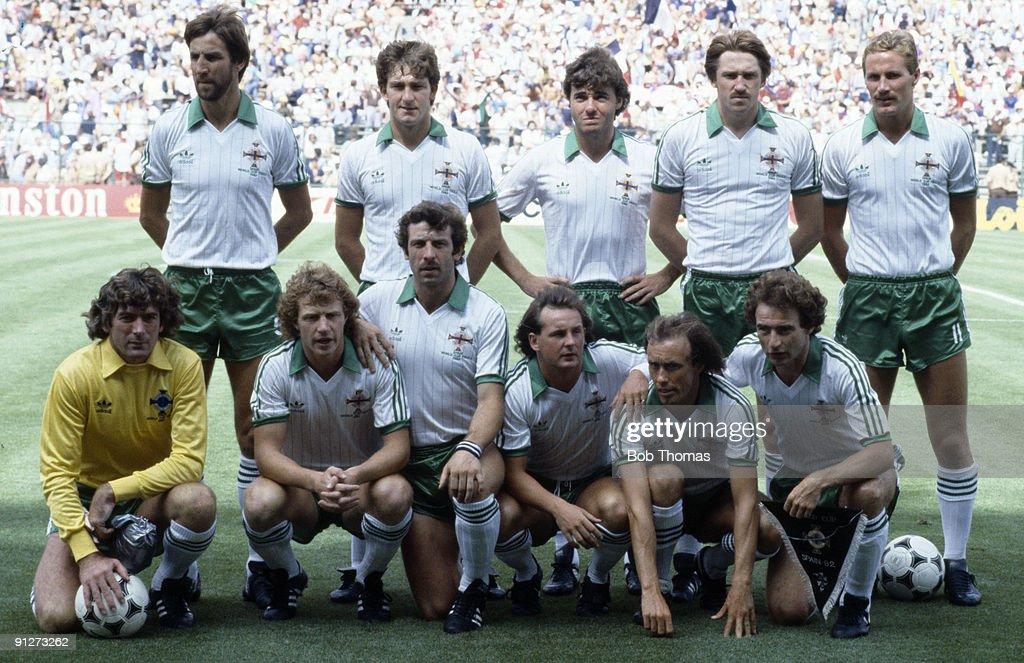 Northern Ireland Team Group 1982 : News Photo