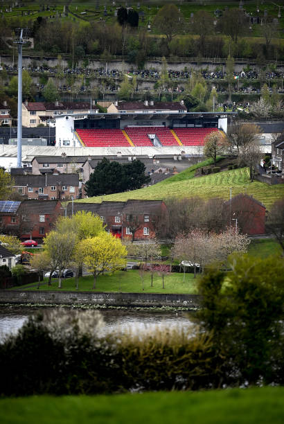 GBR: Derry City v Dundalk - SSE Airtricity League Premier Division