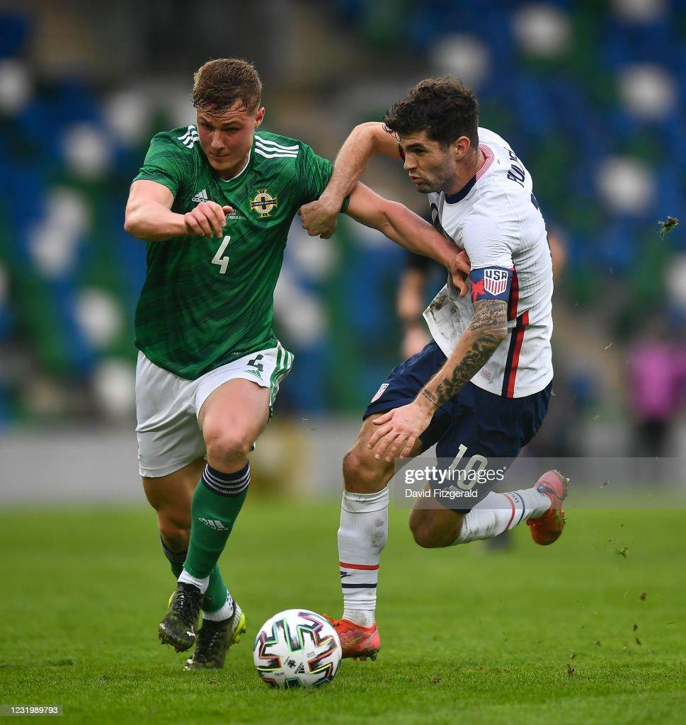 Northern Ireland v USA - International Friendly : Photo d'actualité