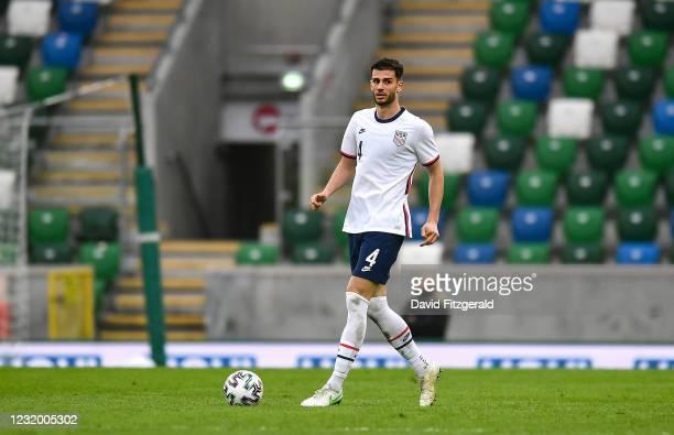 Northern Ireland , United Kingdom - 28 March 2021; Matthew Miazga of USA during the International friendly match between Northern Ireland and USA at...