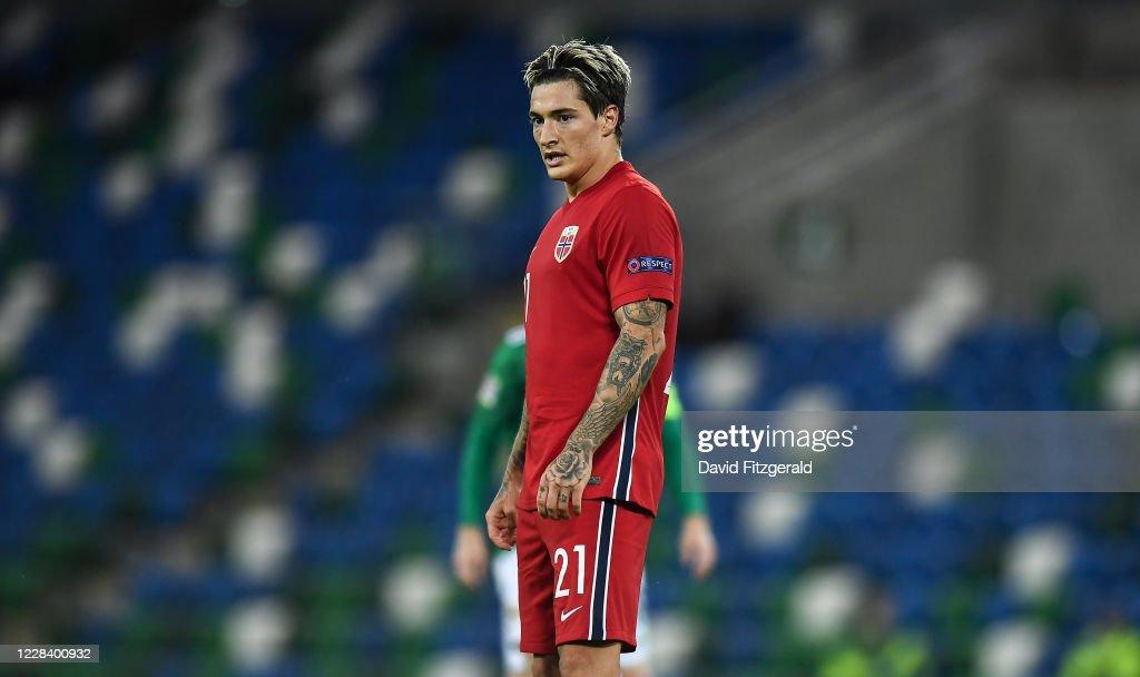 Northern Ireland v Norway - UEFA Nations League B : News Photo