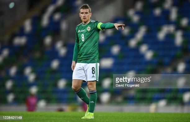 Northern Ireland , United Kingdom - 7 September 2020; Steven Davis of Northern Ireland during the UEFA Nations League B match between Northern...