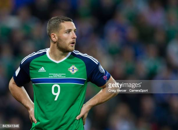 Northern Ireland's Conor Washington during the FIFA 2018 World Cup Qualifier Northern Ireland and Czech Republic at Windsor Park on September 4 2017...