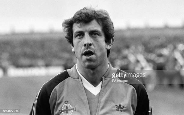 Northern Ireland's international footballer Gerry Armstrong