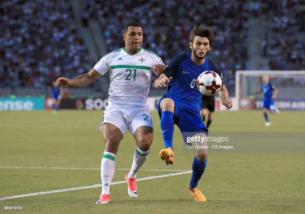 Azerbaijan V Northern Ireland 2018 Fifa World Cup Qualifying Group C Tofik Bakhramov