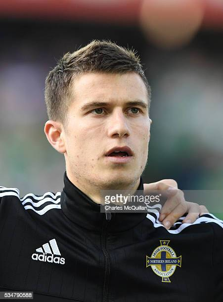 Northern Ireland's Paddy McNair before the international friendly game between Northern Ireland and Belarus on May 27 2016 in Belfast Northern Ireland