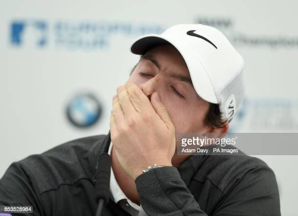 Northern Ireland's Rory McIlroy during the Pro/Am for the BMW PGA Championship at the Wentworth Club Surrey
