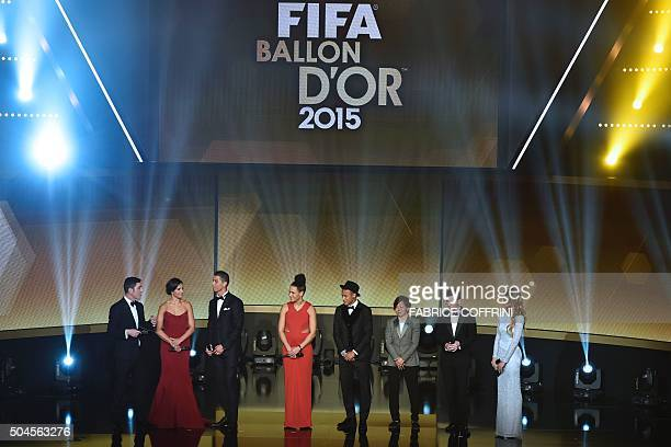 Northern Irish actor and host James Nesbitt USA and Houston Dashs midfielder Carli Lloyd Real Madrid and Portugal's forward Cristiano Ronaldo Germany...