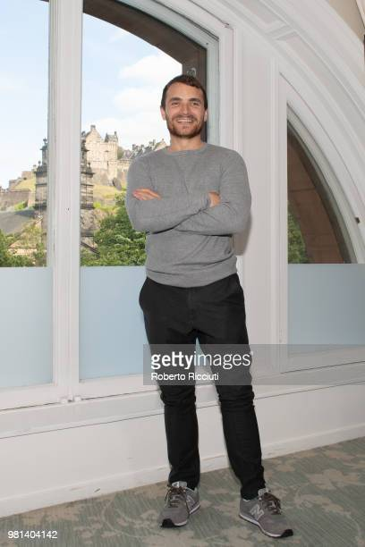 Northern Irish actor Martin McCann attends a photocall for the World Premiere of 'Calibre' during the 72nd Edinburgh International Film Festival at...