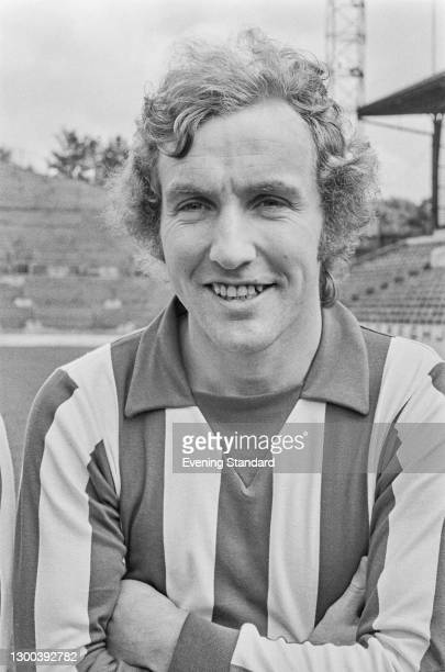 Northern Irish footballer Dave Clements of Sheffield Wednesday FC, UK, 25th July 1972.