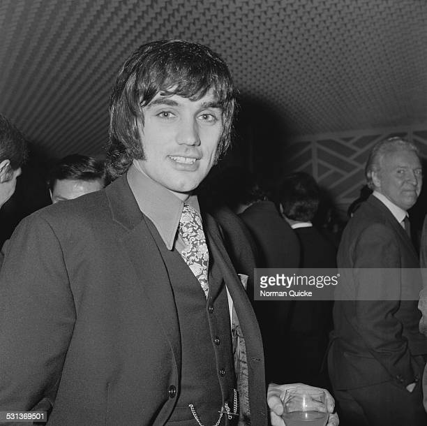 Northern Irish footballer George Best attends the Sportsman and Sportswoman of the Year awards 25th November 1969