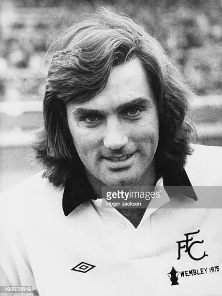 Northern Irish footballer George Best during his time at Fulham FC, September 1976.