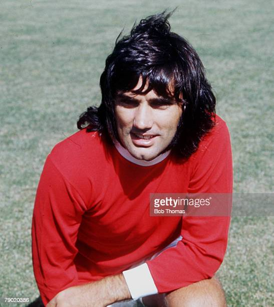Football 1960's Manchester United's George Best poses for a portrait