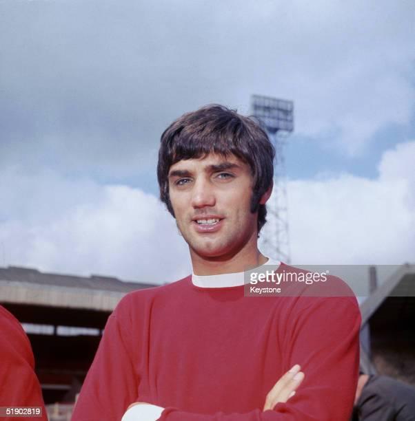 Northern Irish footballer George Best of Manchester United FC, 1968.