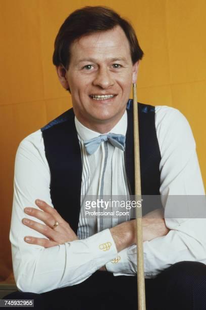 Northern Irish professional snooker player Alex Higgins in 1988.