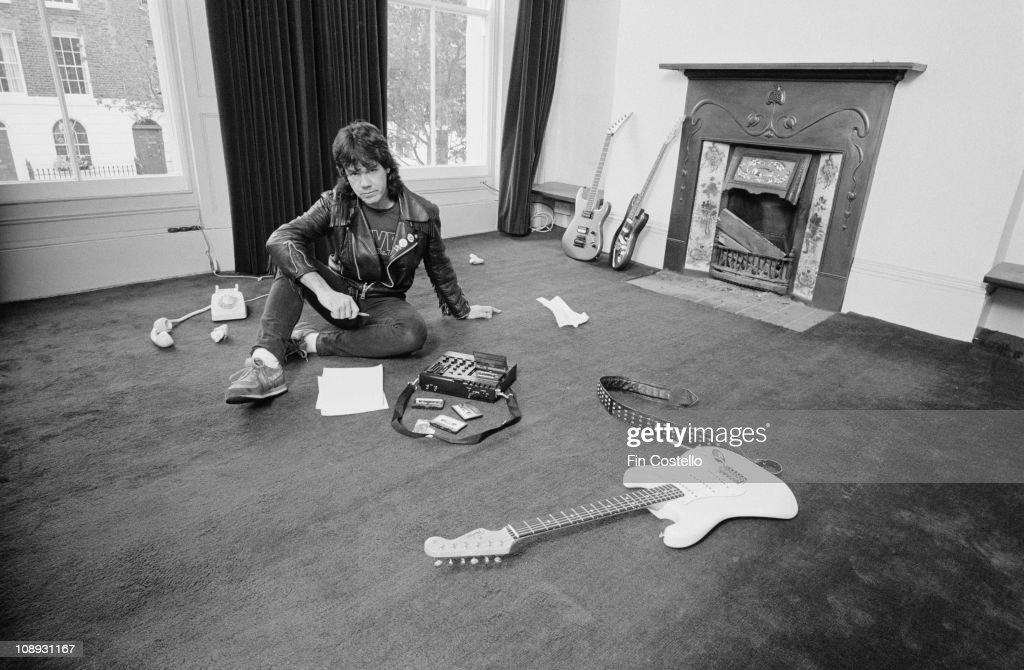 Gary Moore At Home : ニュース写真