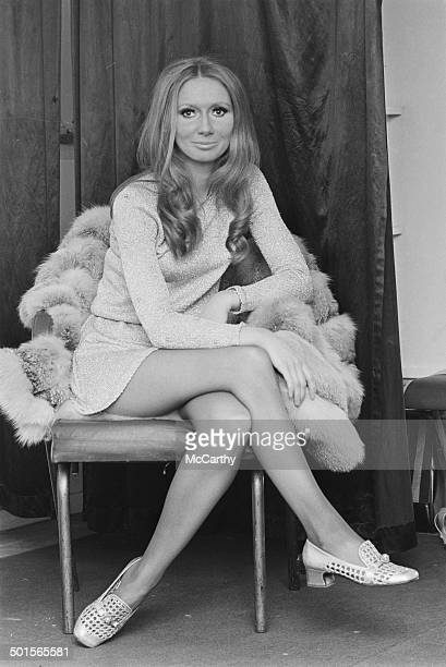 Northern Irish singer Clodagh Rogers backstage at the Daily Express Record Star Show 13th April 1969