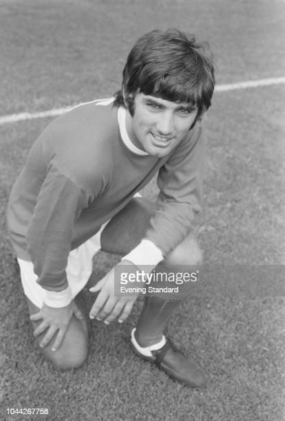 Northern Irish soccer player George Best of Manchester United FC, UK, 1st August 1968.