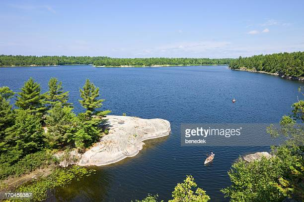 northern lake country - north stock pictures, royalty-free photos & images