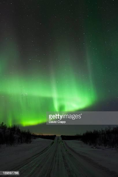 Northern light in the sky, Finland, Scandinavia