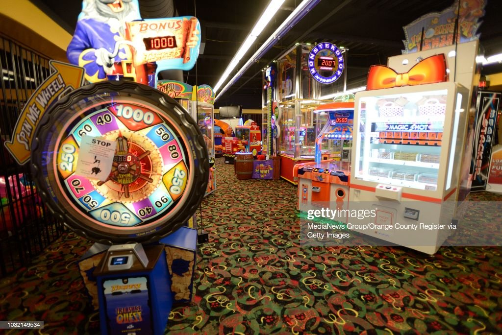 Northern Lights Arcade At Great Wolf Lodge In Garden Grove. The 603 Suite  Hotel