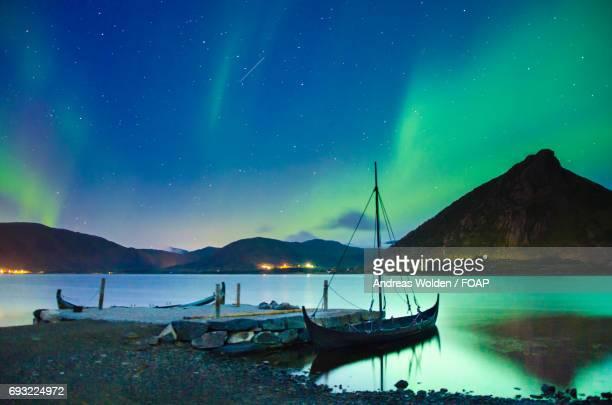 Northern lights in lofoten