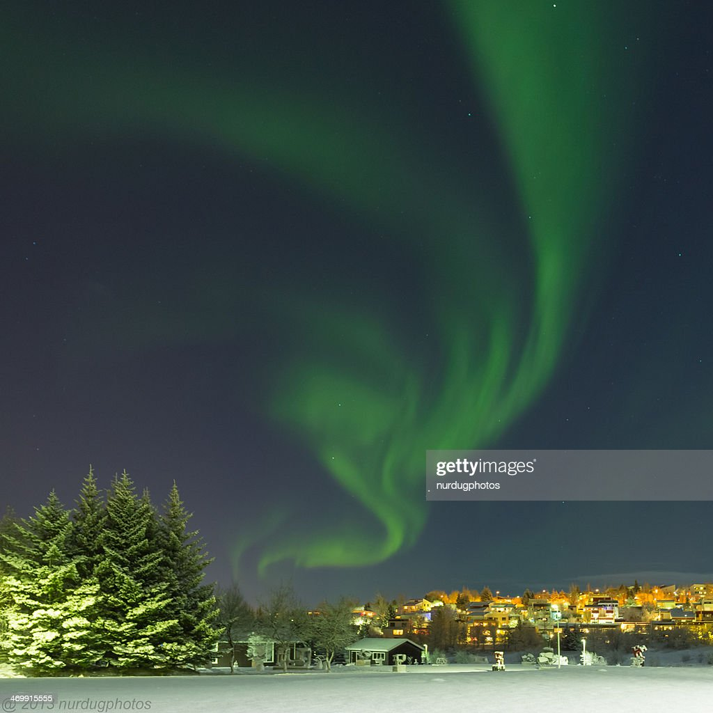Northern lights : Stock Photo