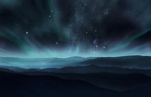 Northern lights 540582612