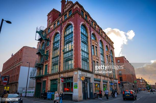 northern quarter, manchester, uk - north stock pictures, royalty-free photos & images