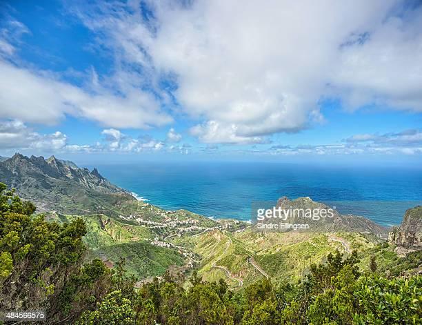 Northern Tenerife village