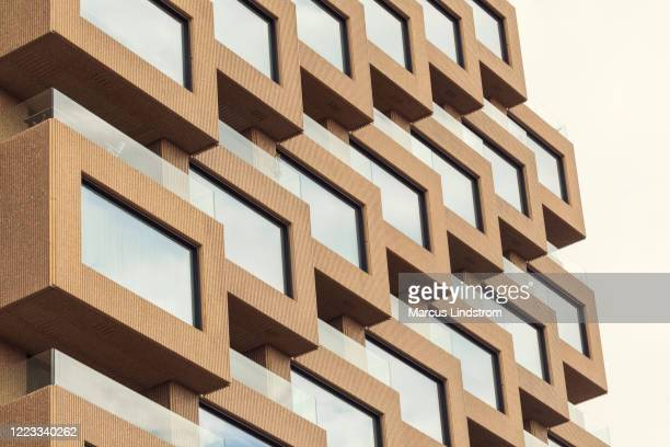 northern towers apartment buildings - stockholm stock pictures, royalty-free photos & images