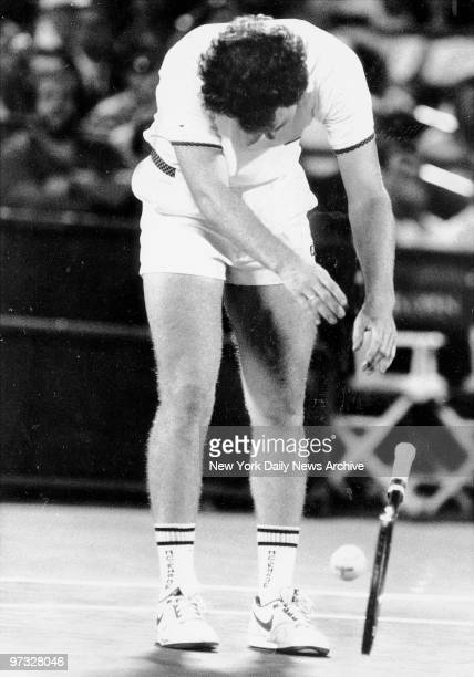 Northing worked for John McEnroe he yelled at his racket slammed it down and finally lost 63 63 64 to Ivan Lendle in the US Open