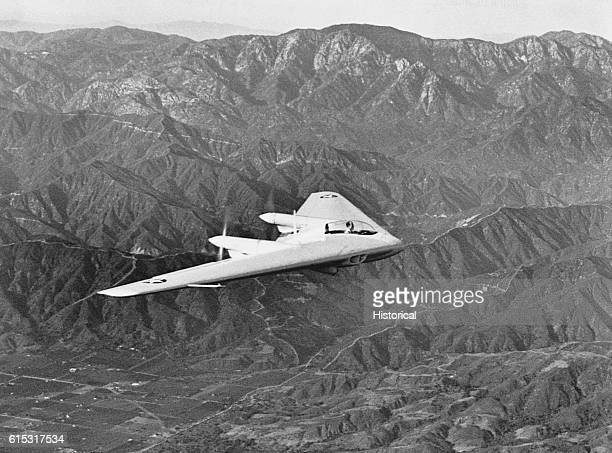 Northrop Flying Wing N9M Military Aircraft
