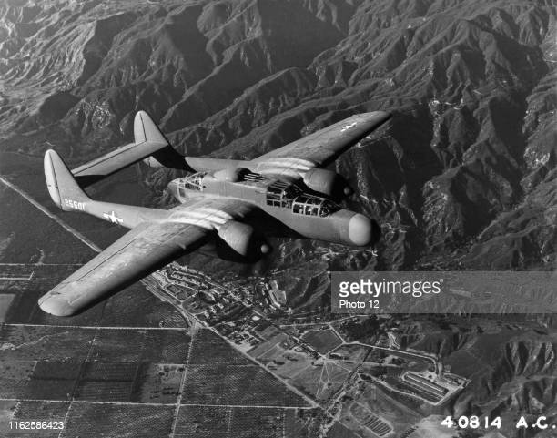 Northrop night fighter plane P61 Black Widow 1944