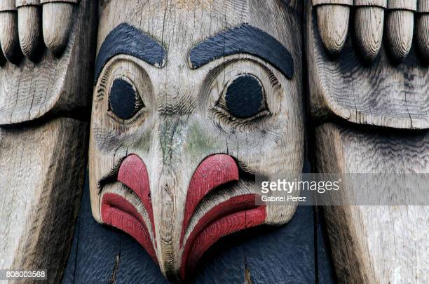 A Northwest Coast Totem Pole